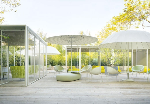 La sedia Amable di Paola Lenti vince il German Design Award