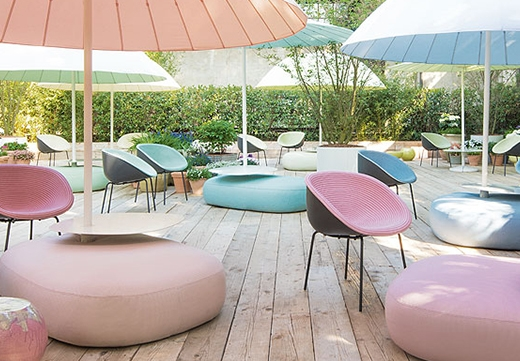 Arredi Paola Lenti all'ICFF di New York