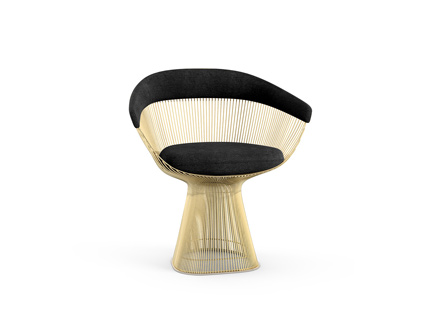 Platner Arm Chair Gold