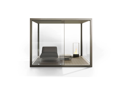 OUTDOOR SPACES - CRISTAL BOX