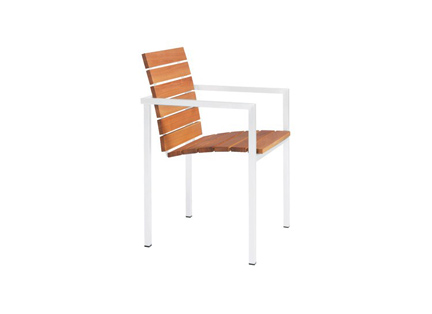 NATAL ALU TEAK chair